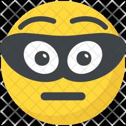 Burglar Emoji Icon