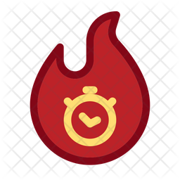 Burning Sale Icon