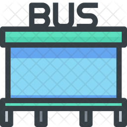 Bus Stand Icon