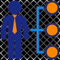 Business Alternatives Flat Icon