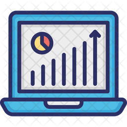 Business Analysis Colored Outline Icon