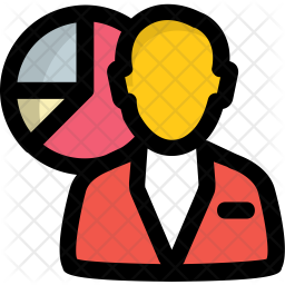 Business Analyst Icon Of Colored Outline Style Available In Svg Png Eps Ai Icon Fonts