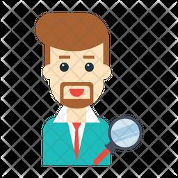 Business analyzer Icon