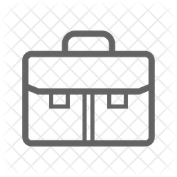 Business Bag Line Icon