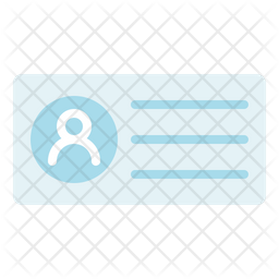Business Card Flat Icon