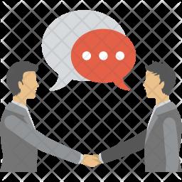 Business Communication Icon