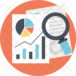 business data analysis icon of flat style available in svg png eps ai icon fonts business data analysis icon