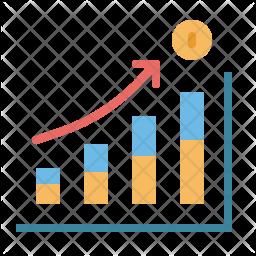 Business Diagram Statistics Graphics Report Icon