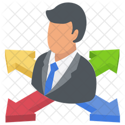 Business Directions Icon