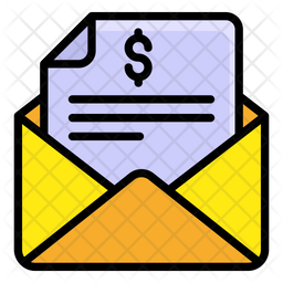 Business Email Colored Outline Icon