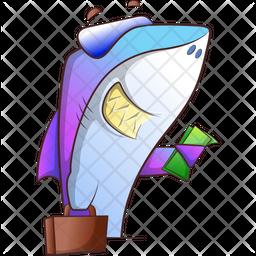 Business Fish Icon
