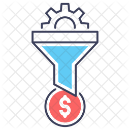 Business Funnel Icon
