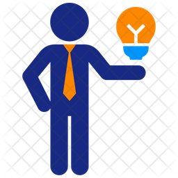Business Idea Flat Icon