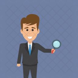 Business Investigator Icon
