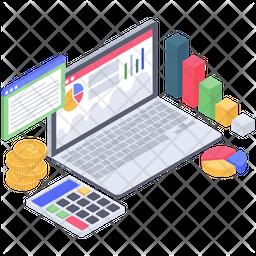 Business Investment Analytics Icon