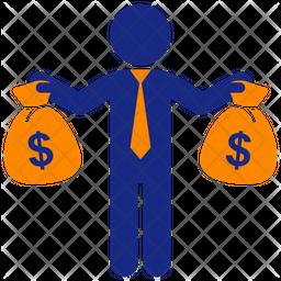Business Profit Flat Icon