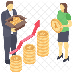 Business Profit Growth Icon