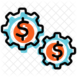 Business Service Colored Outline Icon