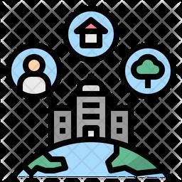 Business Surrounding Icon