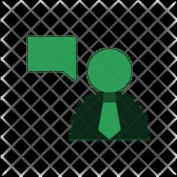 Business Talk Icon