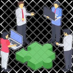 Business Teamwork Icon