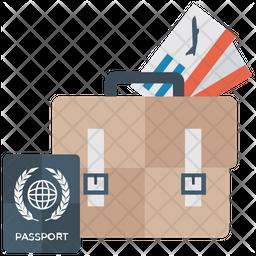 Business Travel Luggage Icon