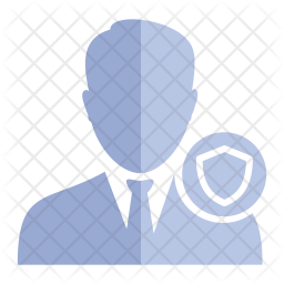 Businessman security Icon