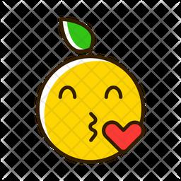Buss Emoji Icon