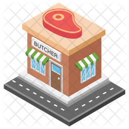 Butchers Shop Icon