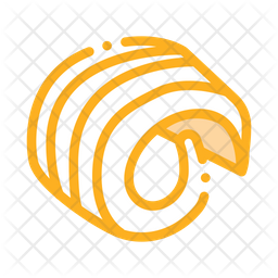 Butter Curl Icon