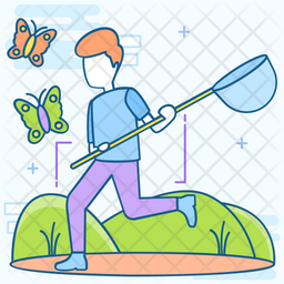 Butterfly Catcher Icon