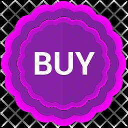Buy label Icon