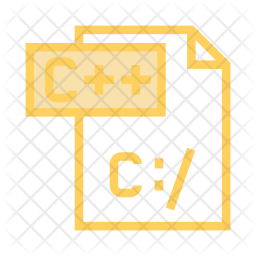 C file Colored Outline Icon