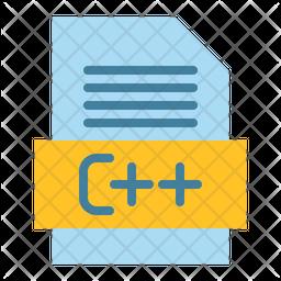 C Plus Flat Icon