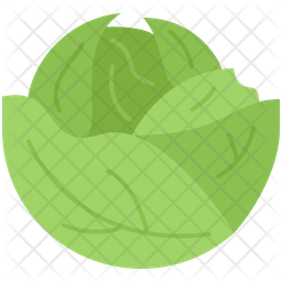 Cabbage Icon Of Flat Style Available In Svg Png Eps Ai Icon Fonts