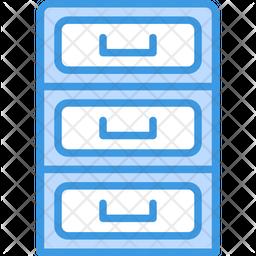Cabinet Dualtone Icon