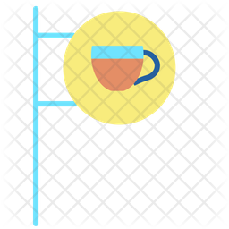 Cafe Spot Flat Icon