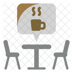 Cafe Table Icon