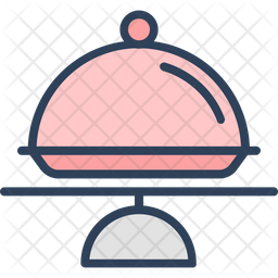 Cake Plate Icon Of Colored Outline Style Available In Svg Png Eps Ai Icon Fonts