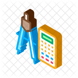 Calculator And Divider Icon