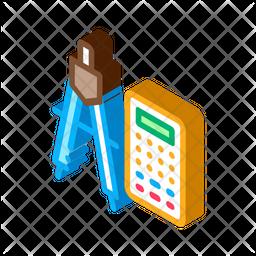 Calculator And Divider Icon