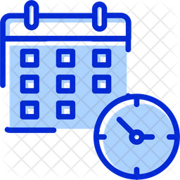 Calendar Colored Outline Icon