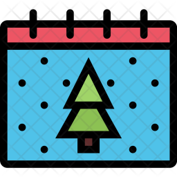 Calendar, Christmas, Holidays, New, Year, Winter Icon png