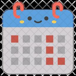 Calendar Emoji Emoji Icon