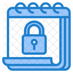 Calendar Lock Icon