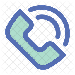 Call Colored Outline Icon