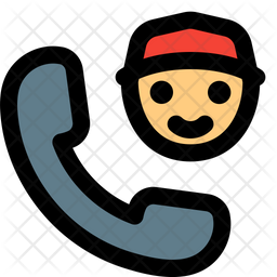 Call Courier Icon
