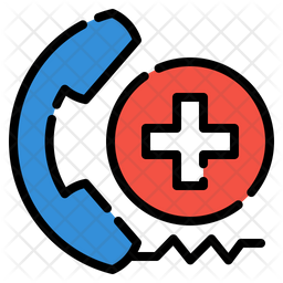 Call for medial  help Icon