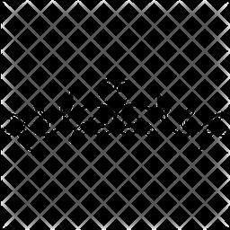 Calligraphic Border Glyph Icon