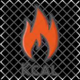 Calorie Fire Icon